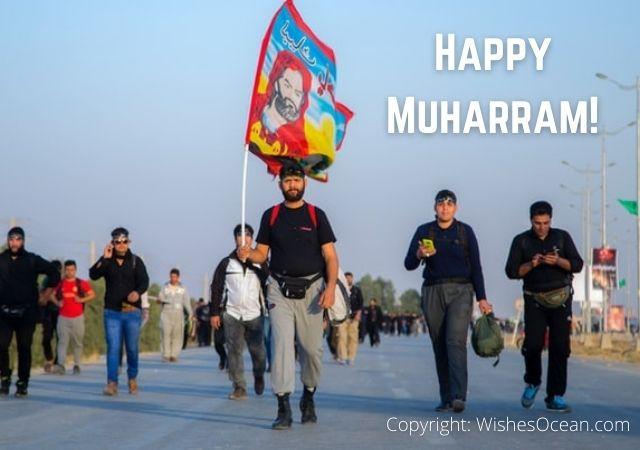 Wishing happy muharam