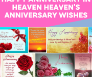 Happy Anniversary in Heaven-Heaven's Anniversary Wishes