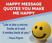 Happy Message-Quotes You Make Me Happy