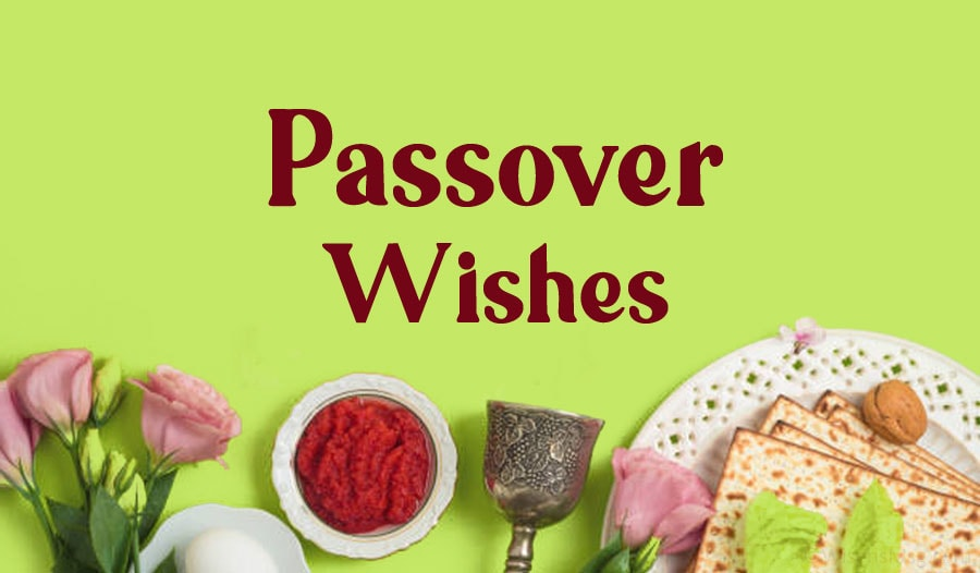 Happy Passover wishes, messages and greetings