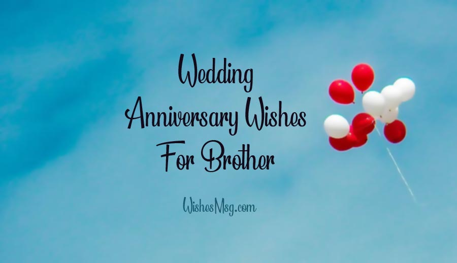 50th wedding anniversary wishes for brothers