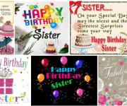 Happy Birthday Sister Best Msgs Images   Top Birthday Wishes For Sister